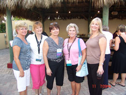 SGMP Florida Capital Chapter logo - Society of Government Meeting Professionals Ladies at Event
